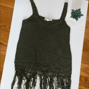 Cloud Chaser Knit Tank Top
